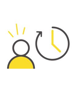 pictogramme horloge